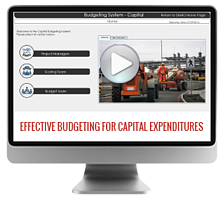 Capital Budgeting Software