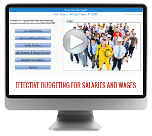 Salaries and Wages Budgeting