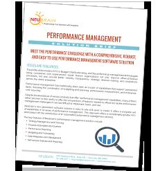 Performance Management Solution Brief