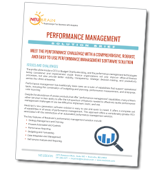 Performance Management Solution Brief