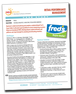 Fred's Case Study