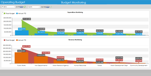 Public Sector Budget Monitoring Software